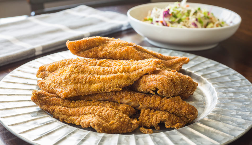 Mississippi Fried Catfish