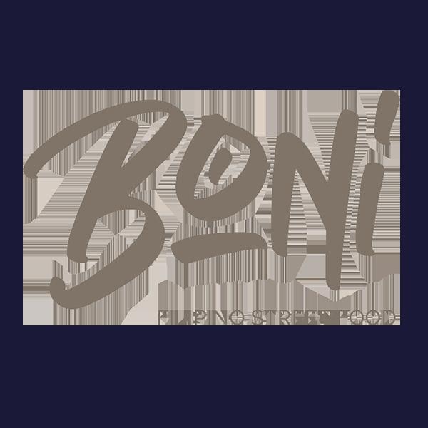 Boni Filipino Street Food logo.