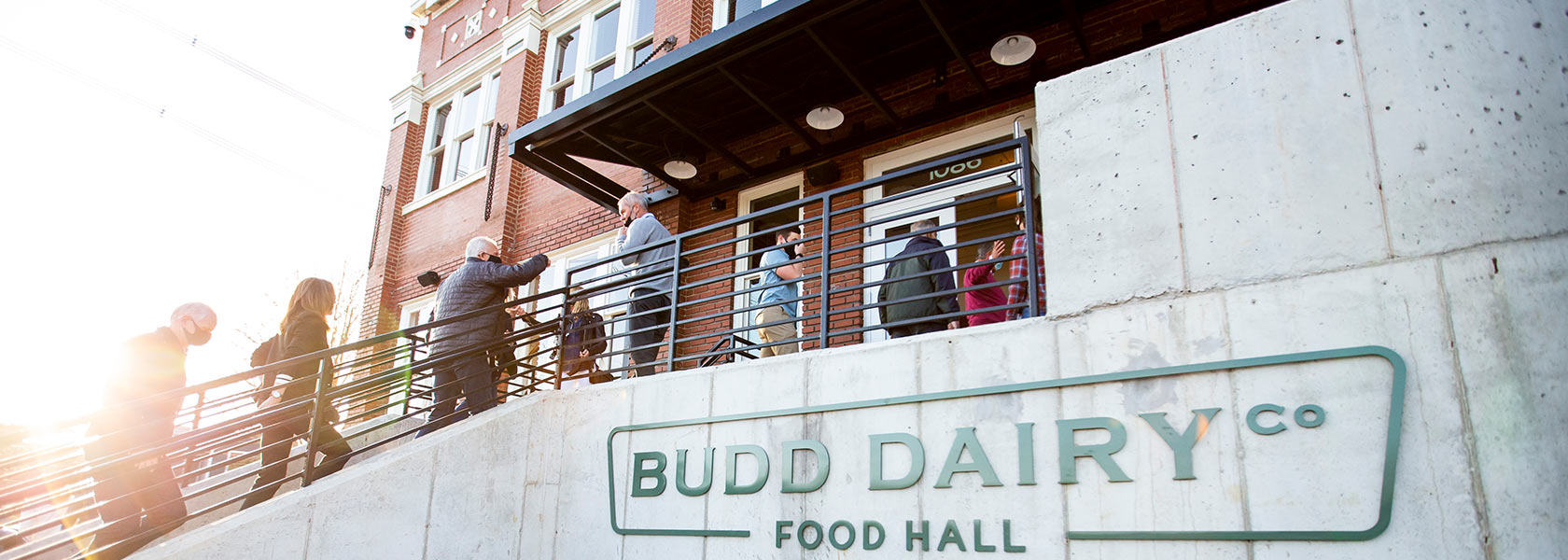 Budd Dairy Food Hall exterior