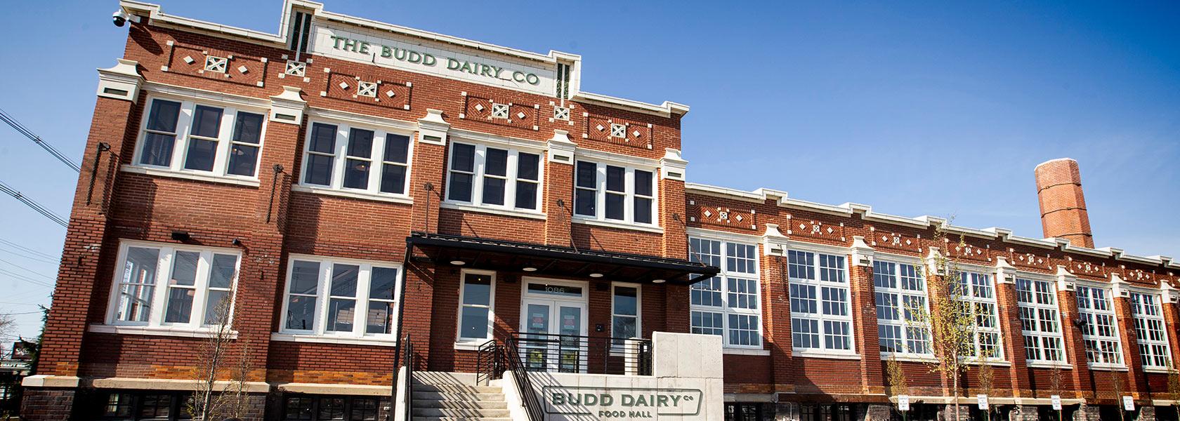 Budd Dairy Food Hall exterior