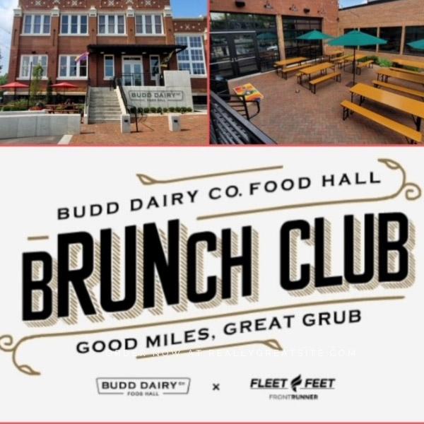 Budd Dairy Food Hall Brunch Club - good miles, great grub