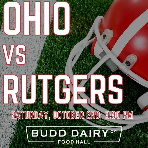 Ohio State vs. Rutgers on Saturday, October 2nd at 3:30 PM