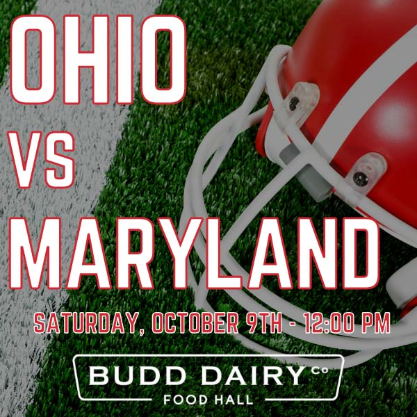 Ohio vs. Maryland on Saturday, October 9th